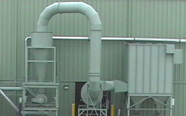Dust Collector Cyclone System | Aget Manufacturing